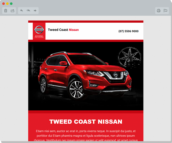 Tweed Coast Automotive eDM Design