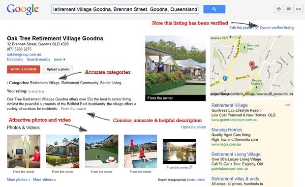 Oak Tree Retirement Village Goodna Places Page