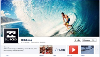 billabong facebook timeline