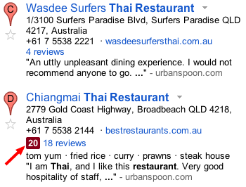 Thai Restaurant zagat reviews