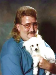Glamour Photo: Man With Dog