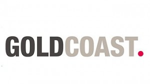 The Gold Coast Red Dot Logo