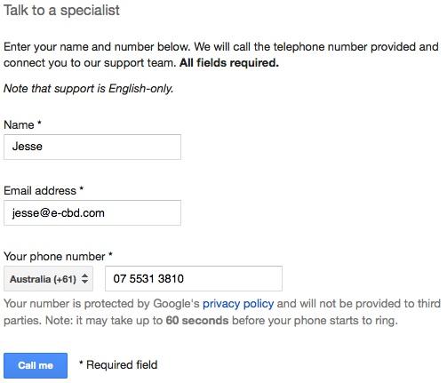 google-call-me