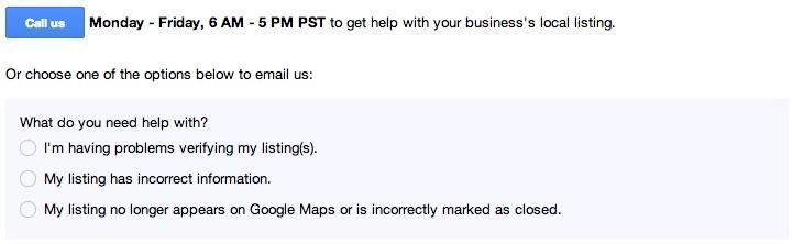google-local-call-us