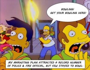 Homer Bowling Shotgun