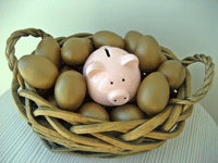 Don't invest all your eggs in one basket