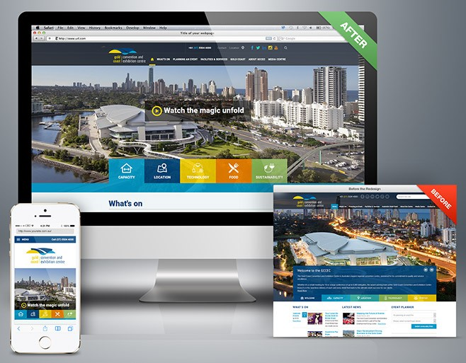 Gold Coast Convention & Exhibition Centre Website