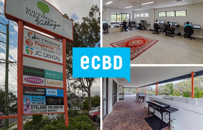 e-cbd new office collage