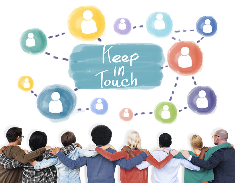 Use email marketing to stay in touch with customers